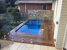 Modern Courtyard Pool Kit 4m x 1.9m (depth 1.29m-1.6m) Symmetrical Design