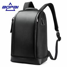BOPAI Laptop Backpack USB Charging Anti-Theft Notebook Men Business Travel Bag