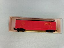 MODEL POWER 3090 N-SCALE WP WESTERN PACIFIC 50' BOX FREIGHT CAR NOS, KIDSTOYZ®