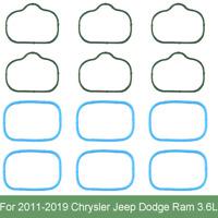 12x Intake Manifold & Plenum Gaskets Set For Chrysler Jeep Dodge Ram 3.6L Engine