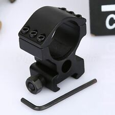 Tactical 30mm 6 Screw Scope Flashlight Mount Ring 20mm Picatinny Rail for Rifle