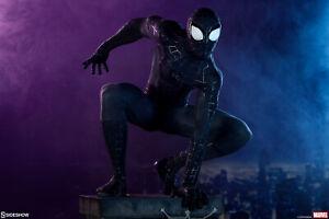 SIDESHOW SPIDER-MAN (BLACK SUIT VARIANT) LEGENDARY FORMAT EXCLUSIVE #36/100!!