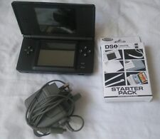 Nintendo ds lite + 19 games, starter pack and guitar hero grip