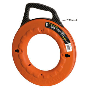 Klein Tools 56007 Depth Finder High Strength 1/8-Inch Stainless Steel Fish Tape