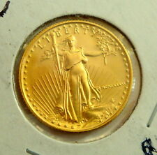 1986 Walking Liberty 1/4 oz Fine Gold $10 Uncirculated USA Gold Coin
