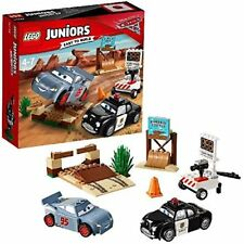 Lego Juniors Cars 3 Willy's Butte Speed Training Playset Toy Kids Gifts Boy Girl