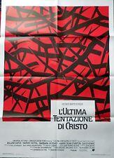 manifesto movie poster 2F L'ultima tentazione di Cristo Martin Scorsese dafoe