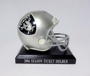 Las Vegas Oakland Raiders Mini Helmet 2006 Season Ticket Holder Bobble Dobbles