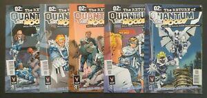 Q2 The Return of Quantum and Woody #1-5 VF/NM Complete Set Priest Bright Valiant