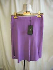 Designer Ladies Skirt HUGO BOSS UK 8 lilac, lined A-line, RRP £179, zip 1176