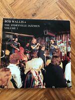 """BOB WALLIS. + THE STORYVILLE JAZZMEN. VOL 1 SIGNED COPY! 12"""" VINYL LP"""