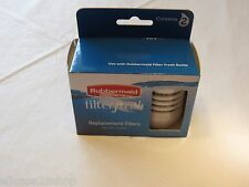 Rubbermaid filter fresh 2 pack replacement filters water purifier fresh bottle