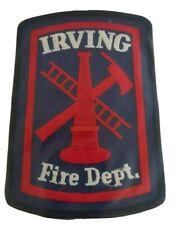 Irving Texas Fire Department Patch TX Fire Dept.