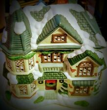 Victorian Style House For Christmas Village