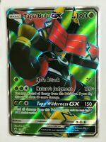 Tapu Bulu GX FULL ART ULTRA RARE 130/147 SM Burning Shadows Pokemon Card HOLO NM