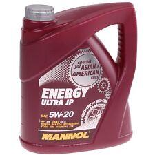 5W-20 Motoröl 4 Liter Mannol Energy Ultra 5W20 5L API SN 4L GM Dexos1 Ford Opel