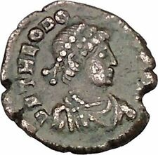 Theodosius I the Great Ancient Roman Coin Wreath of success i42545