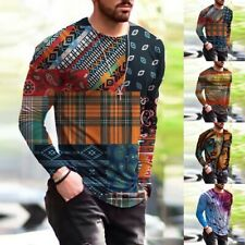 Round Tops Shirts Sports T-Shirt Breathable Casual Clothing Comfortable