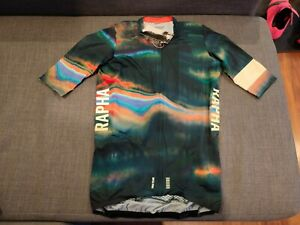 Rapha Strata Colin Strickland Pro Team Aero Jersey Size Large L LIMITED NEW