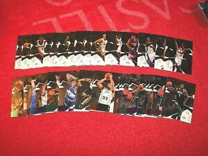 2003-04 BLACK DIAMOND BASKETBALL 31 DIFF DOUBLE & TRIPLE DIAMOND CARDS (18-52)