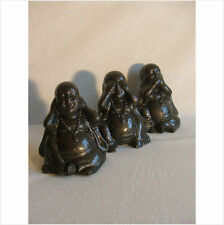 LATEX MOULD/MOULDS/MOLDS.   SET OF 3  HEAR, SEE AND SPEAK BUDDHA'S