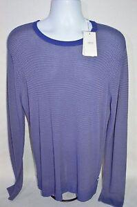 ARMANI COLLEZIONI Man's Crew Neck Striped Sweater NEW Size XX-Large Retail $395