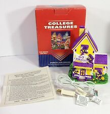 College Treasures Eastern Carolina Pirates Porcelain Lighted House