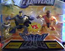 DC UNIVERSE ACTION LEAGUE BATMAN VS BRONZE TIGER *NEW*