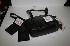 Buxton Madison Mini Tote Handbag The Maddie black checkbook credit card holder