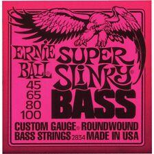 ERNIE BALL SUPER SLINKY NICHEL Roundwound Bass guitar Strings