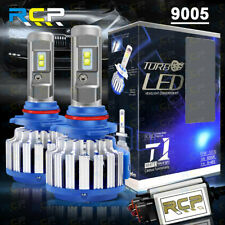 9005 HB3 LED Headlight Conversion Kit 1800W 195000LM High/Low Beam Bulbs 6000K