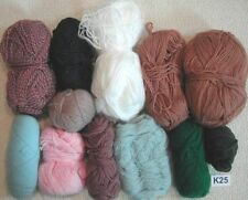 Unbranded Acrylic Mixed Lot Crocheting & Knitting Yarns