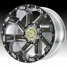 Moto Metal, Buckshot ,20 inch MO979 20x10 Chrome/Gun Metal  Alloy Mag Wheel Rim
