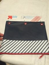 NEW Up & Up Binder Pouch Navy Blue White And Red