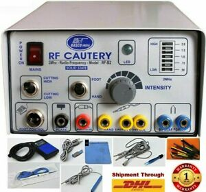 Brand New Electro Surgical cautery 2 mhz High Frequency machine Bipolar modes sf