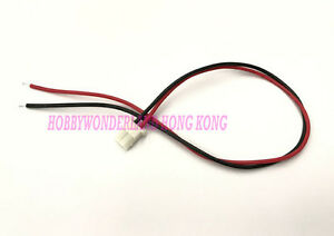 5264 2-Pin Female Connector wire & Male for Battery Cordless Phone at home x 10