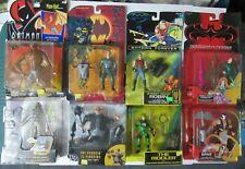 Assorted Lot of 9 Batman Figures Bane Penguin Poison Ivy Robin Riddler Joker