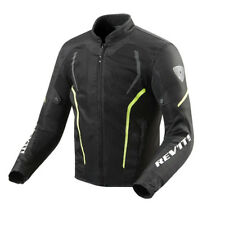 GIACCA MOTO REV'IT GT-R AIR 2 NERO GIALLO FLUO SIZE XXL