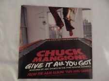 """Chuck Mangione """"Give It All You Got"""" PICTURE SLEEVE! NEW! ONLY NEW COPY ON eBAY!"""