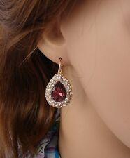 goccia orecchini Oro - bordo Strass,zircone,cristalli ,Da Donna, idea regalo