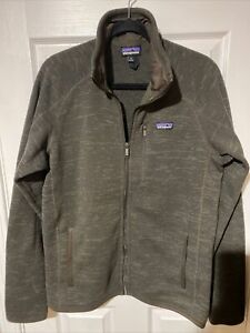 Patagonia Better Sweater Fleece Jacket Full Zip Men's Size M Medium