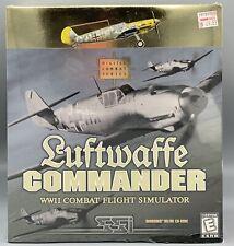 New Sealed Ssi Luftwaffe Commander Wwii Combat Flight Simulator Pc Game