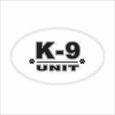 3M Graphics K-9 Paw Unit Vinyl Car Truck Window Decal Sticker Helmet Decor
