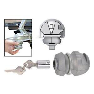 Anhängerdiebstahlsicherung  Schloss inkl 2 Schlüsseln für Anhänger Wohnwagen