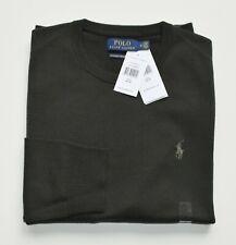 POLO RALPH LAUREN Herren Pullover grün 100% Wolle Größe M