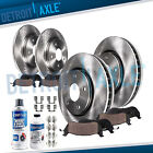 Front & Rear Rotors + Brake Pads for Ford Fusion Mazda 6 Lincoln MKZ Mercury  for sale