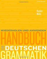 Handbuch Zur Deutschen Grammatik  by Jamie Rankin