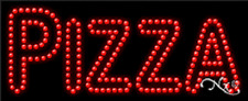 """NEW """"PIZZA"""" 27x11 SOLID/ANIMATED LED SIGN W/CUSTOM OPTIONS 21214"""