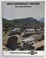1972 Chevrolet Truck Suburban Blazer El Camino Canadian Sales Brochure