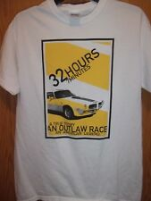 Outlaw Race American Legend 32Hrs 7minutes white M t shirt Doug Turner